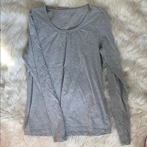 L.L Bean Pima Cotton Long Sleeve T-shirt